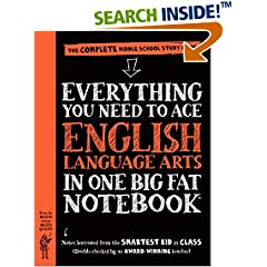 ISBN:0761160914 Everything You Need to Ace English Language Arts in One Big Fat Notebook by Workman 