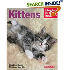 ISBN:0764139622 Kittens (Complete Pet Owner's Manual) by Brigitte 