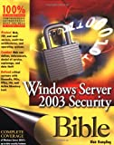 Windows Server 2003 Security Bible