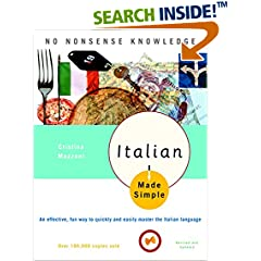 ISBN:0767915399 Italian Made Simple by Cristina 