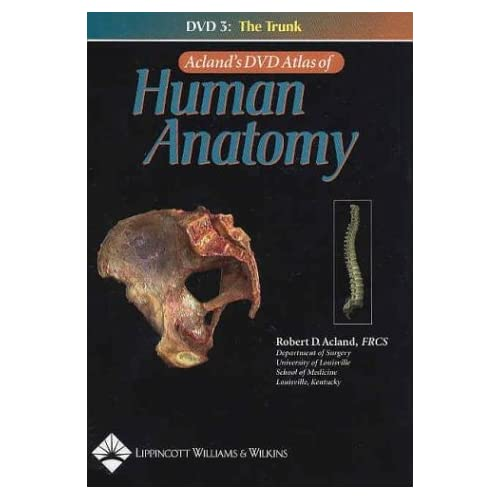 0781740657.01. SS500 SCLZZZZZZZ V1067920774   Aclands DVD Atlas of Human Anatomy