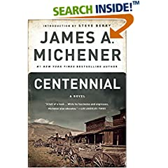 ISBN:0812978420 Centennial by James    A. Michener and Steve    Berry