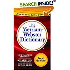 ISBN:087779295X The Merriam-Webster Dictionary New Edition (c) 2016 by Merriam-Webster