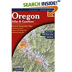 ISBN:0899333478 Oregon Atlas and Gazetteer by null    and Delorme