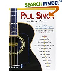 ISBN:0936799099 Paul Simon - Transcribed (Paul Simon/Simon & Garfunkel) by Paul 