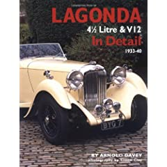Lagonda in Detail: 4 1/2 Litre and V12, 1933-40