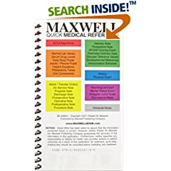 ISBN:0964519143 Maxwell Quick Medical Reference by Robert 