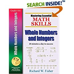 ISBN:096662114X Mastering Essential Math Skills WHOLE NUMBERS AND INTEGERS by Richard 