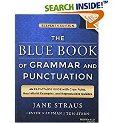 ISBN:1118785568 The Blue Book of Grammar and Punctuation by Jane    Straus and Lester    Kaufman