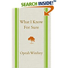 ISBN:1250054052 What I Know For Sure by Oprah    Winfrey