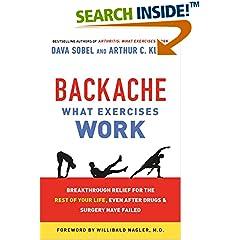 ISBN:125006869X Backache by Dava    Sobel and Arthur C.    Klein