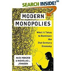 ISBN:1250091896 Modern Monopolies by Alex    Moazed and Nicholas    L. Johnson