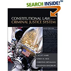 ISBN:128545796X Constitutional Law and the Criminal Justice System by J.    Scott Harr and Kären    M. Hess