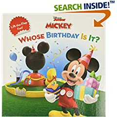 ISBN:1423106520 Mickey Mouse Clubhouse Whose Birthday Is It? (Disney's Mickey Mouse Club) by Disney    Book Group and Sheila    Sweeny Higginson