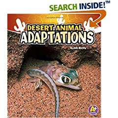 ISBN:1429670258 Desert Animal Adaptations (Amazing Animal Adaptations) by Julie    Murphy
