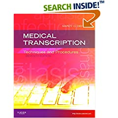 ISBN:1437704395 Medical Transcription by Marcy 