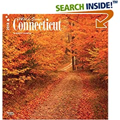 ISBN:1465090266 Connecticut, Wild & Scenic 2018 12 x 12 Inch Monthly Square Wall Calendar, USA United States of America Northeast State Nature (Multilingual Edition) by BrownTrout 