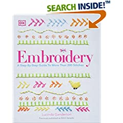 ISBN:1465436030 Embroidery by DK