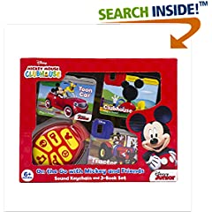 ISBN:1503705331 Keychain Book Box Mickey Mouse Club House by PiKids