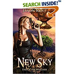 ISBN:1530489997 New Sky - Eyes of the Watcher #steampunk #scifi