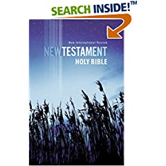 ISBN:1563205785 NIV, Outreach New Testament, Paperback, Blue by Biblica