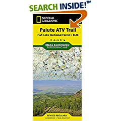 ISBN:1566953081 Paiute ATV Trail [Fish Lake National Forest, BLM] (National Geographic Trails Illustrated Map) by National 