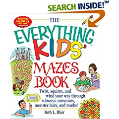 ISBN:1580625584 Kids' Mazes Book by Beth 