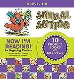 Animal Antics: Level One Short-Vowel Sounds (Now I'm Reading)