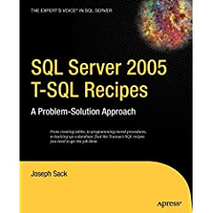 Cover von 'SQL Server 2005 - T-SQL Recipes'