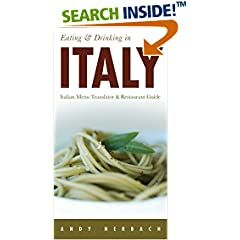 ISBN:159360226X Eating & Drinking in Italy by Andy    Herbach
