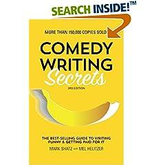ISBN:1599639610 Comedy Writing Secrets by Mel    Helitzer and Mark    Shatz