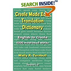 ISBN:1611530105 Creole Made Easy Translation Dictionary by Wally 