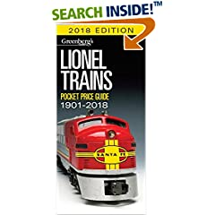 ISBN:1627004769 Lionel Trains Pocket Price Guide 1901-2018 (Greenberg's Pocket Price Guide Lionel Trains) by Roger 