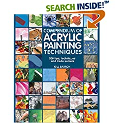 ISBN:1782210458 Compendium of Acrylic Painting Techniques by Gill 