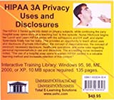 HIPAA 3A Privacy Uses and Disclosures