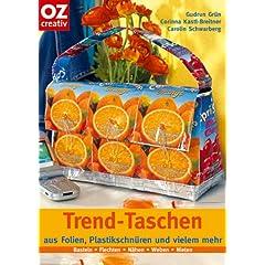 Trend-Taschen aus Folien, Plastikschnüren und vielem mehr