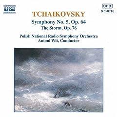 Tchaikovsky: Symphony No. 5; The Storm