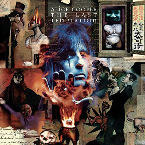 The Last Temptation by Alice Cooper album cover