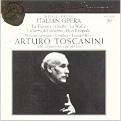 Arturo Toscanini Collection, Volume 50: Music from Italian Opera