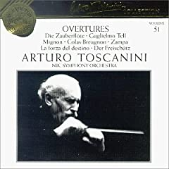 Arturo Toscanini Collection, Volume 51: Overtures