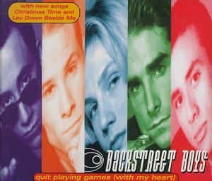 Backstreet Boys - Quit Playing Games (With My Heart) [Holland CD Single] - Zortam Music