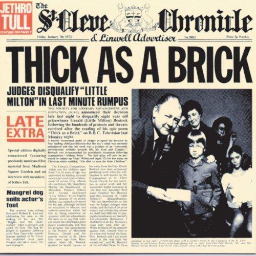 Jethro Tull - Thick As A Brick (25th anniversary edition) - Zortam Music