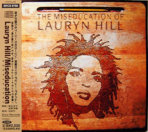 The Miseducation Of Lauryn Hill by Lauryn Hill album cover