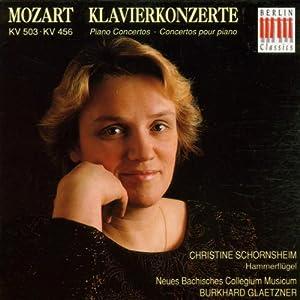 Christine Schornsheim am Fortepianonachbau durch Neupert nach Vorlage eines Dulcken von c1815, begleitet vom Ensemble Neues Bachisches Collegium Musicum. - B000026K1A.03._SS300_SCLZZZZZZZ_