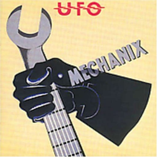 Mechanix by UFO album cover