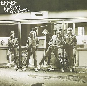 No Place to Run by UFO album cover