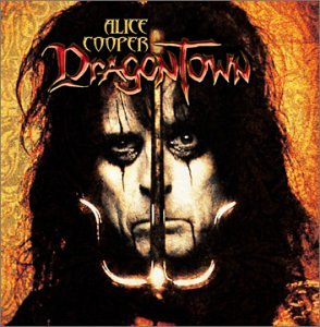 Dragontown by Alice Cooper album cover