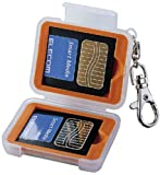 ELECOM メモリカードケース(スマートメディア2枚収納) DGC-011SM