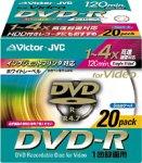 Victor VD-R120PD20 映像録画用DVD-R 20枚組