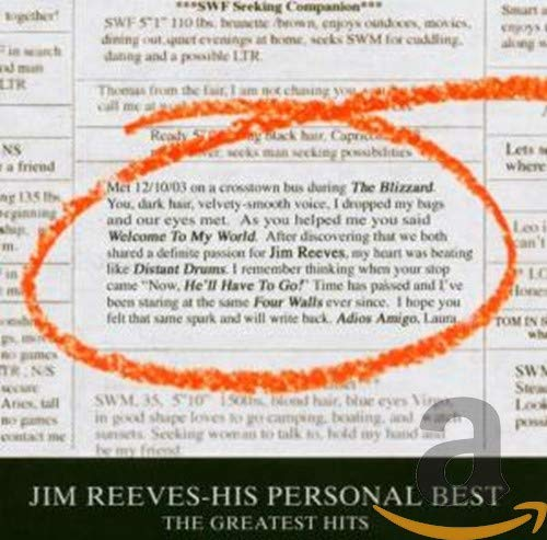 Jim Reeves - The Very Best Of Country, Volume 1 - Zortam Music